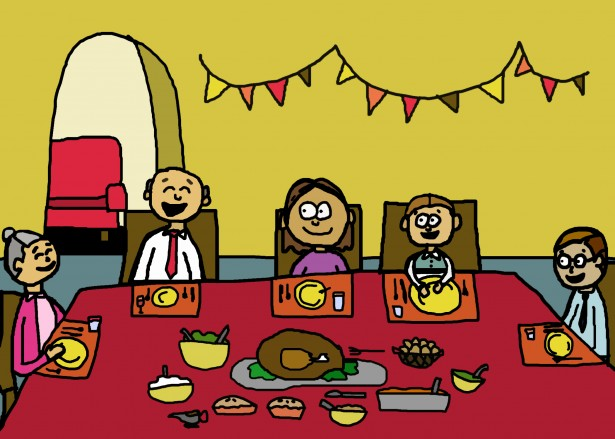 thanksgiving-dinner-illustration